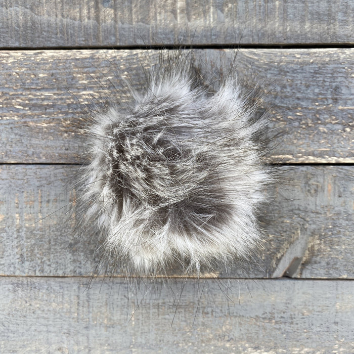 Faux Fur Pom Poms - Knotty Lamb