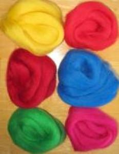 Fruits & Berries Roving- 2oz - Knotty Lamb