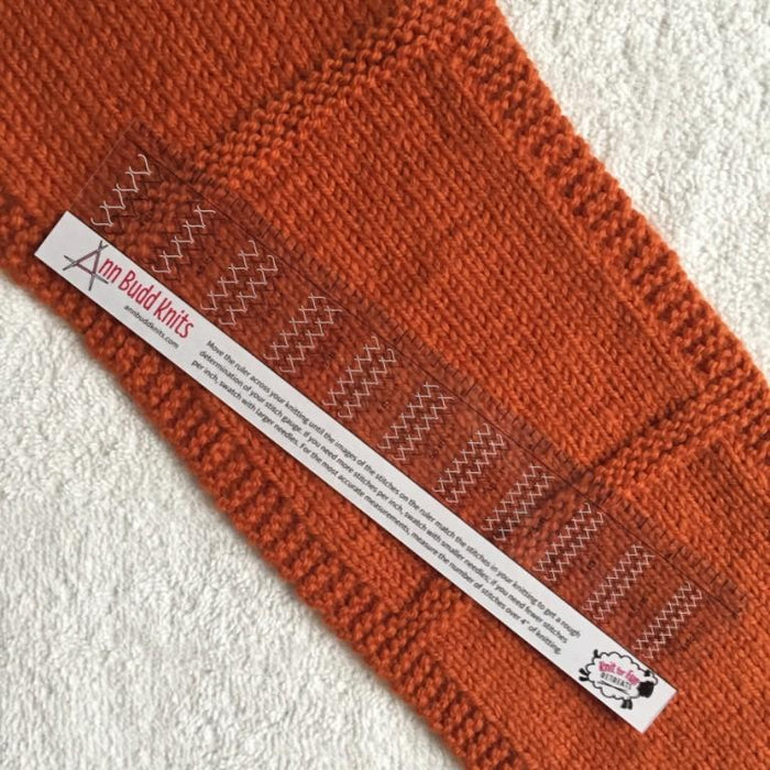 Handy Gauge Ruler - Knotty Lamb
