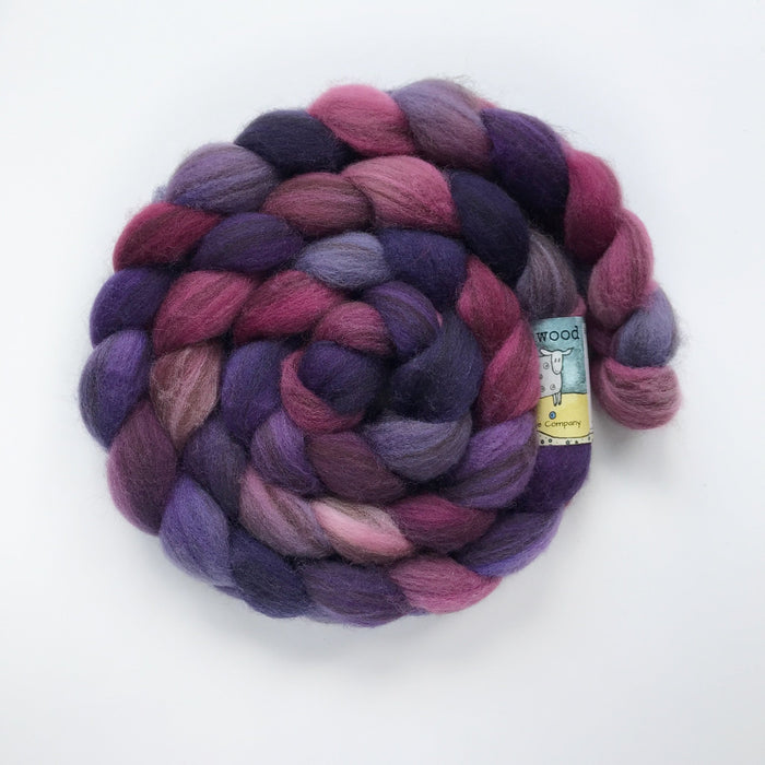 Heathered BFL Roving - Knotty Lamb
