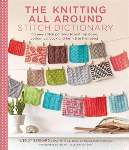 Knitting All Around Stitch Dictionary - Knotty Lamb