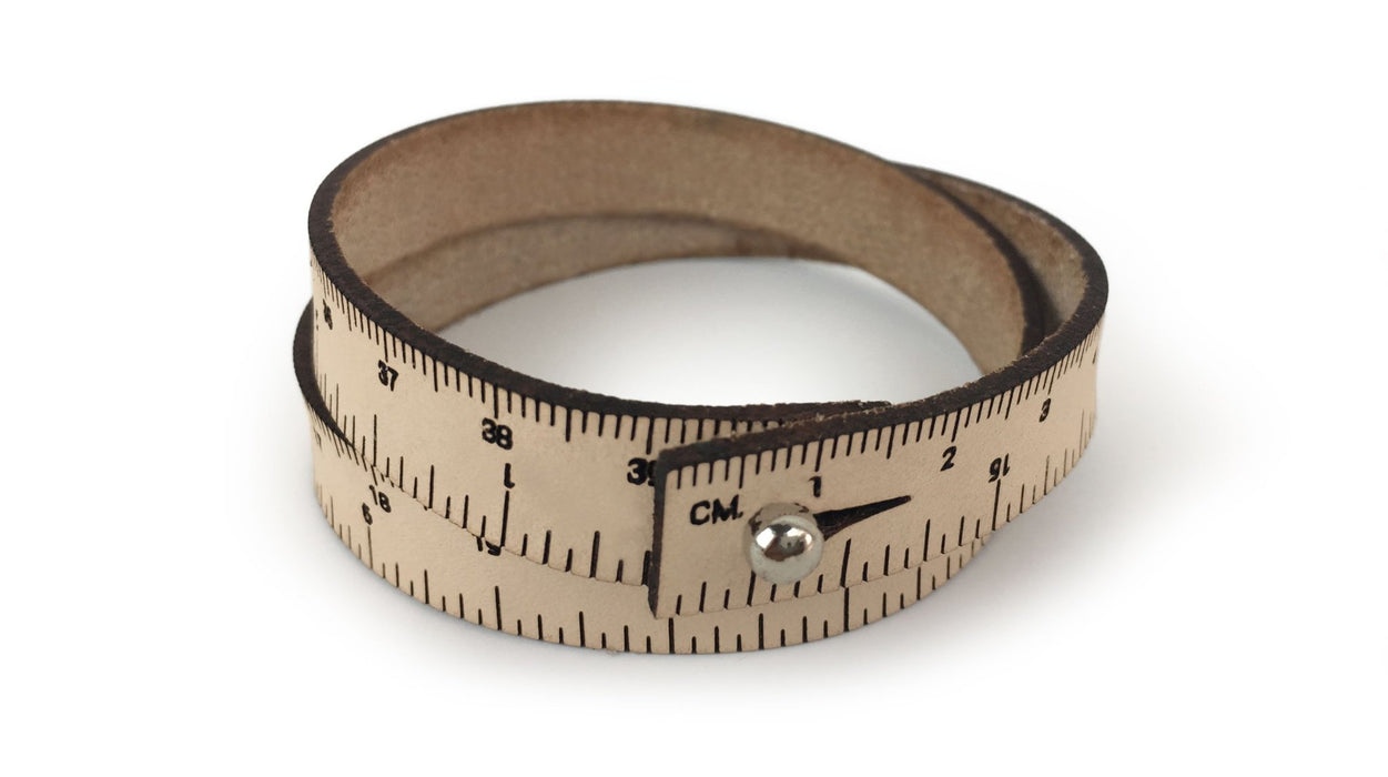 Leather Wrist Rulers - Knotty Lamb