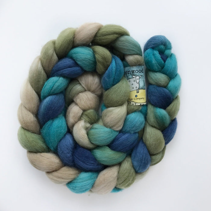 Merino/Camel/Silk Roving - Knotty Lamb