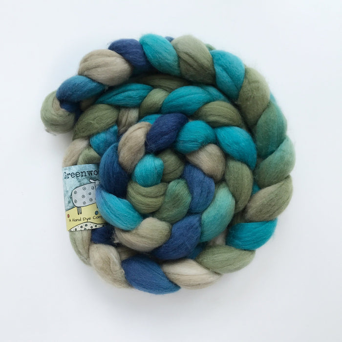 Merino/Silk/Cashmere Roving - Knotty Lamb