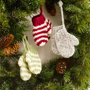 Mitten Ornament Workshop - Saturdays, Dec 14 & 21, 10a-12p