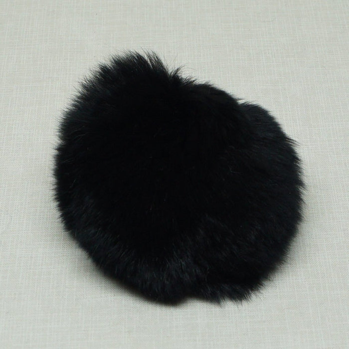 Rabbit Fur Pom Poms - Knotty Lamb
