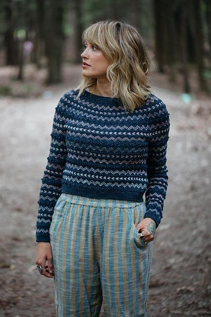 Stonecrop Pullover - Knotty Lamb