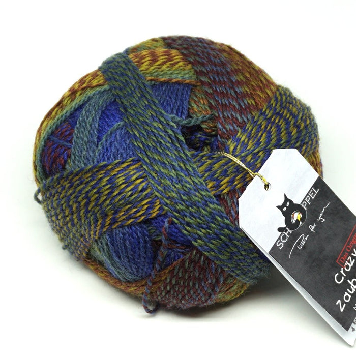 Zauberball Crazy - Knotty Lamb