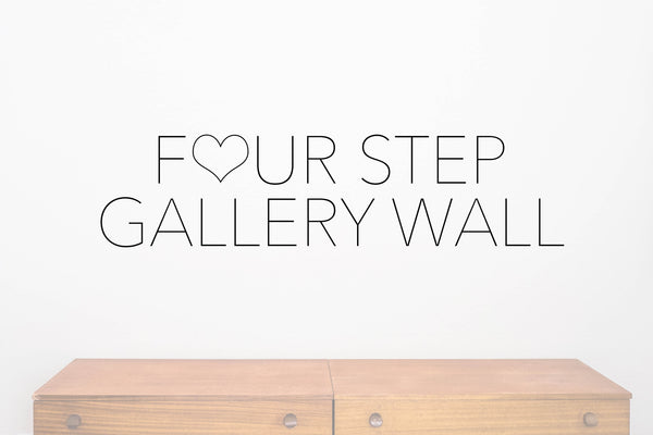 FOUR STEP | GALLERY WALL