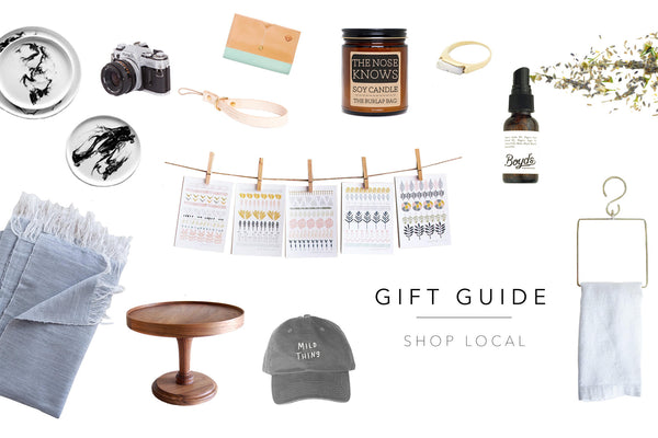 GIFT GUIDE | SHOP LOCAL