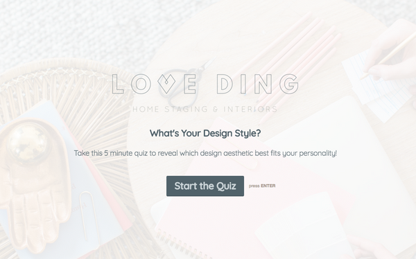 QUIZ | WHAT'S YOUR DESIGN STYLE?