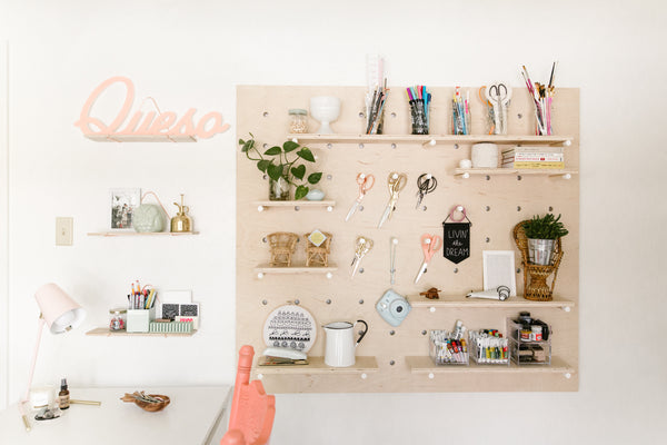 TRENDS | MODERN PEGBOARDS