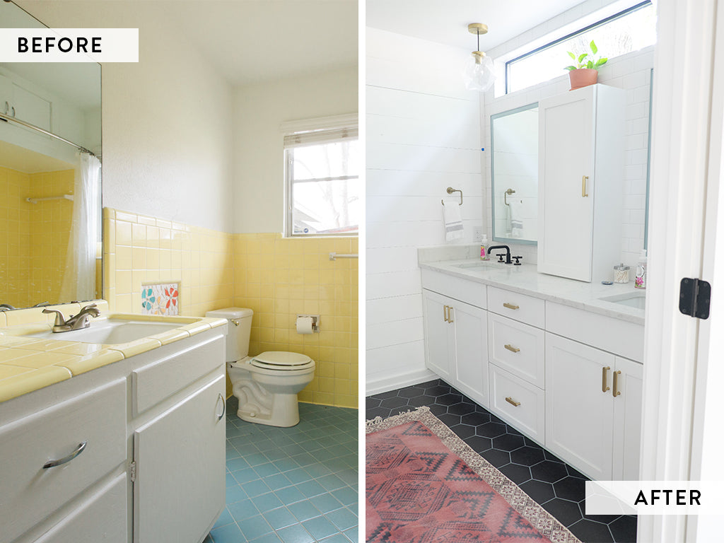 Love Ding Before + After of the RenovateDING Home Renovations