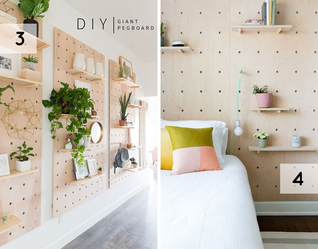 Love Ding Pinterest Birch Modern Pegboard Trend for Home