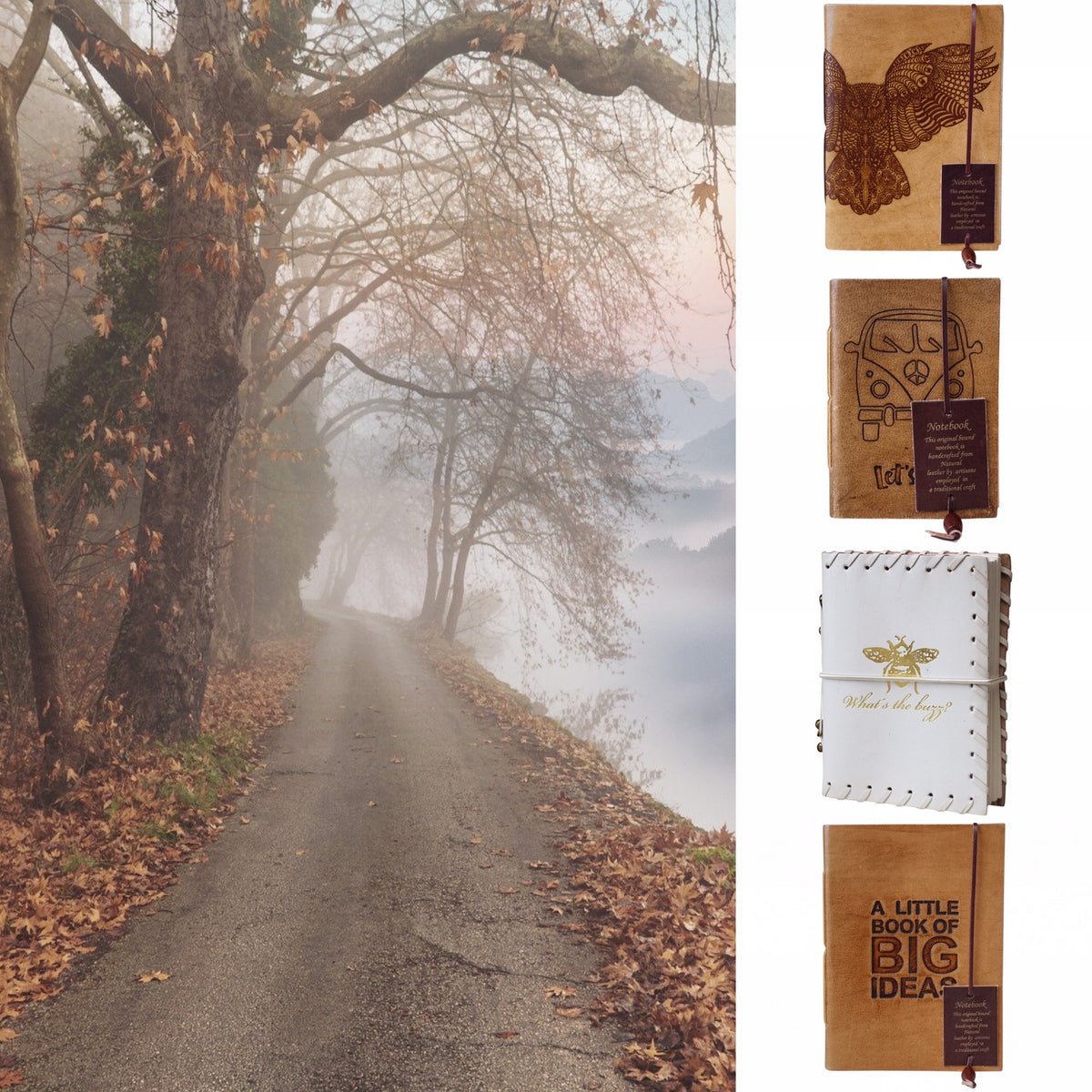 Leather Journal Diary Note Books With Free Delivery The