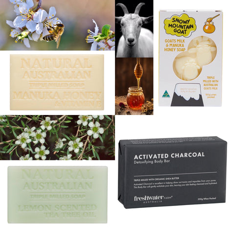 Natural Soaps & Accessories