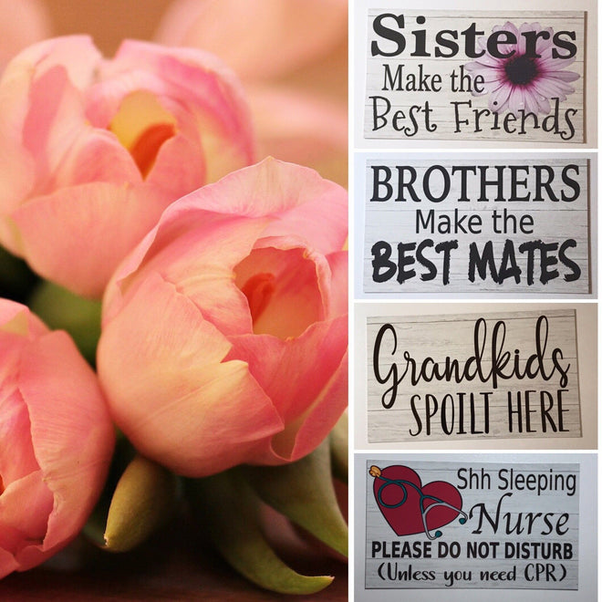 Best Gift Ideas Shop Signs & Home Decor
