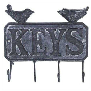 Metal Hook Key With Birds for Keys Hooks & Hangers The Renmy Store