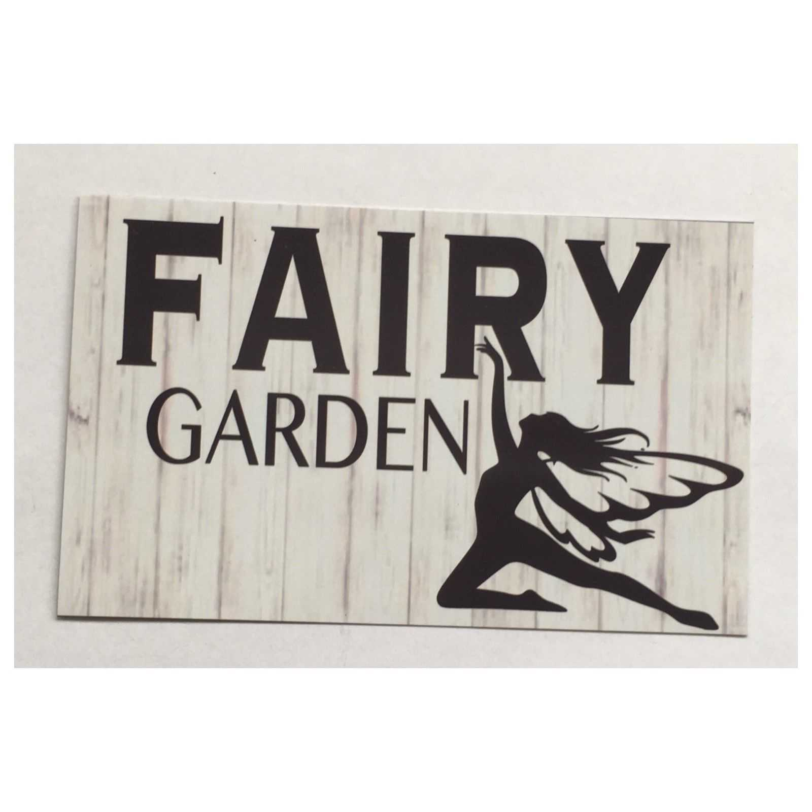 Fairy Garden Sign Plaque or Hanging Plaques & Signs The Renmy Store