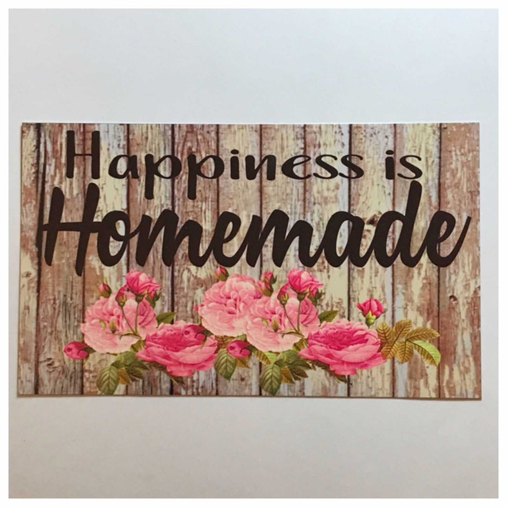Happiness is Homemade Sign Wall Or Hanging Plaque - The Renmy Store