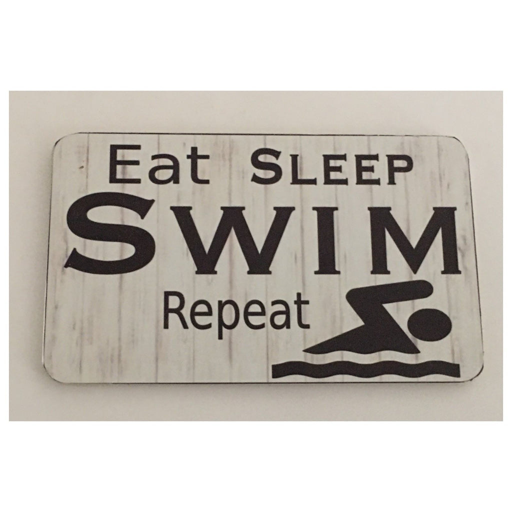 Swim Swimming Sign Plaque Hanging Sport - The Renmy Store