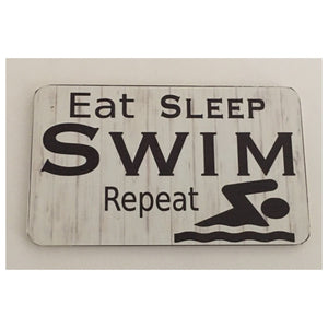 Swim Swimming Sign - The Renmy Store