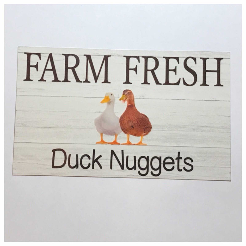 Duck Butt Nuggets Egg Sign Plaque Or Hanging - The Renmy Store