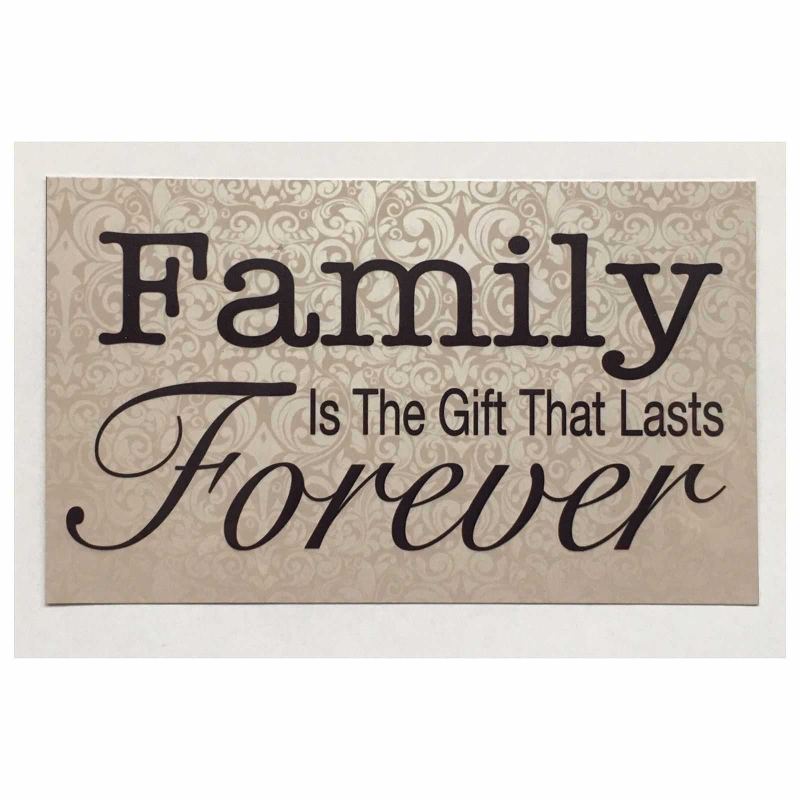 Family Gift Forever Sign Wall Plaque Or Hanging Plaques & Signs The Renmy Store