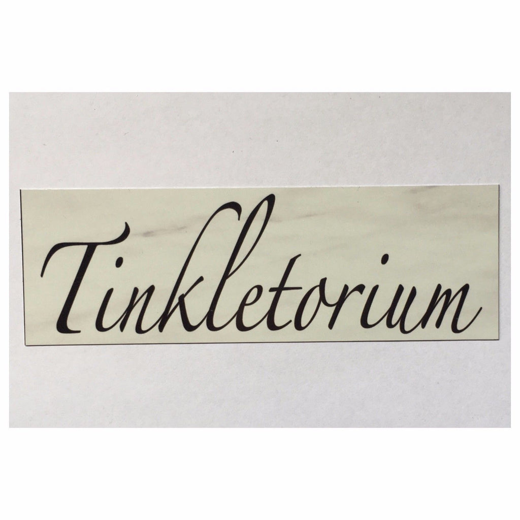 Toilet Tinkletorium Room Door Sign Plaque or Hanging - The Renmy Store