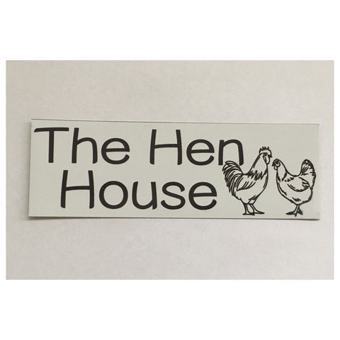 The Hen House Sign Plaque Or Hanging - The Renmy Store