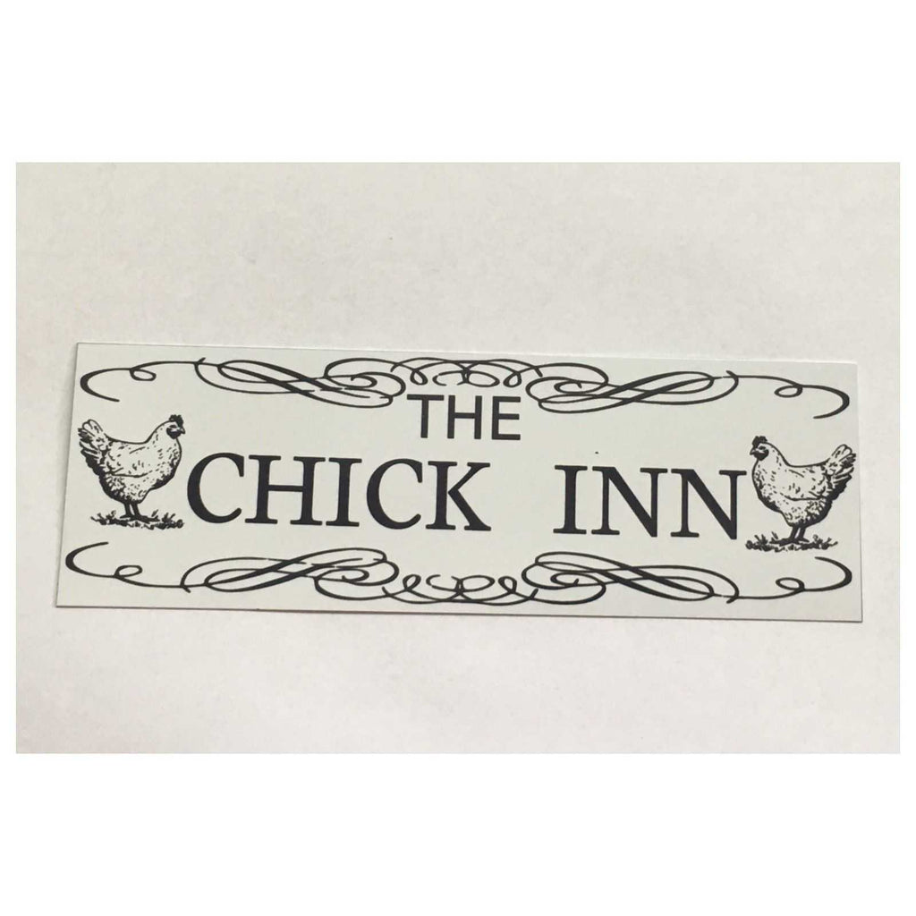 Chick Inn Chicken Sign Plaque Or Hanging - The Renmy Store