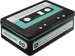 Box Tin Container Cassette Tape Vintage Retro | The Renmy Store