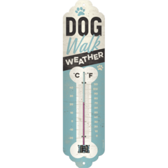 Thermometer Weather Temperature Dog Walk Retro