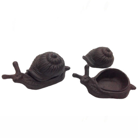 Key Hide Snail Door Rustic Garden Keys - The Renmy Store