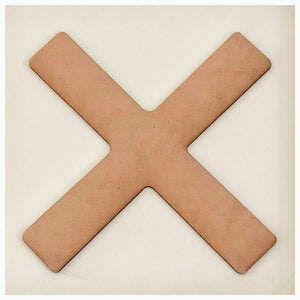 Cross Saint Andrew MDF Shape DIY Raw Cut Out Art Religious Craft Decor - The Renmy Store