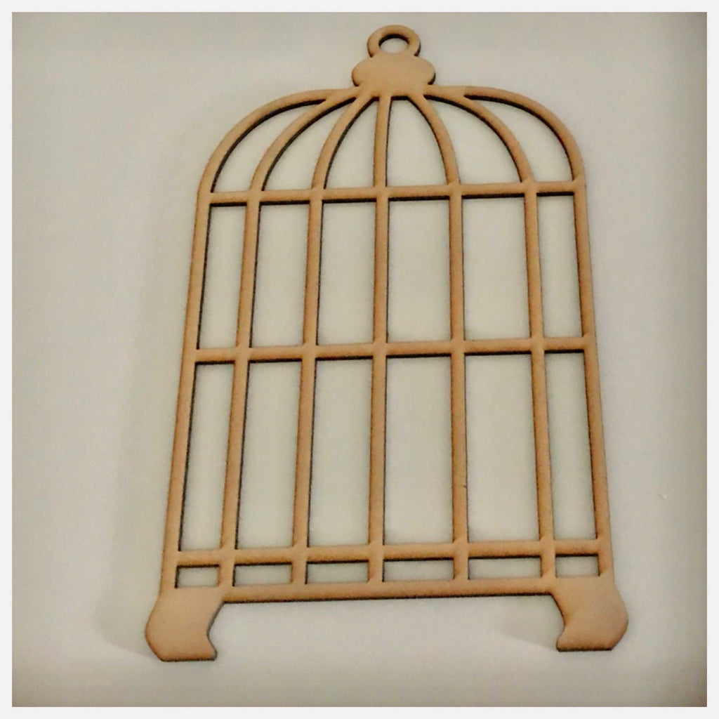 Bird Cage DIY Raw MDF Timber - The Renmy Store