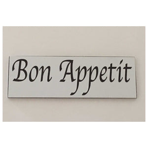 Bon Appetit French Sign | The Renmy Store