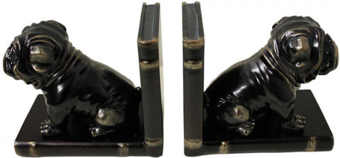 Dog Book Ends Library Office - The Renmy Store