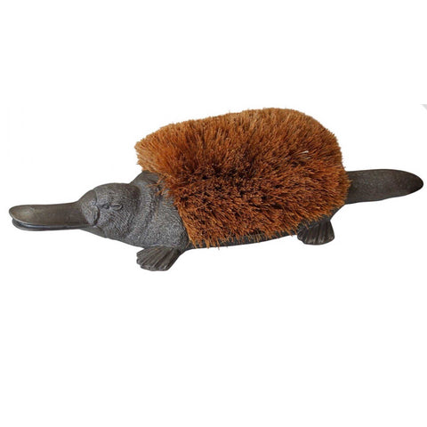 Cast Iron Aussie Platypus Boot Brush Door Stop Shoe Scraper Scrape - The Renmy Store