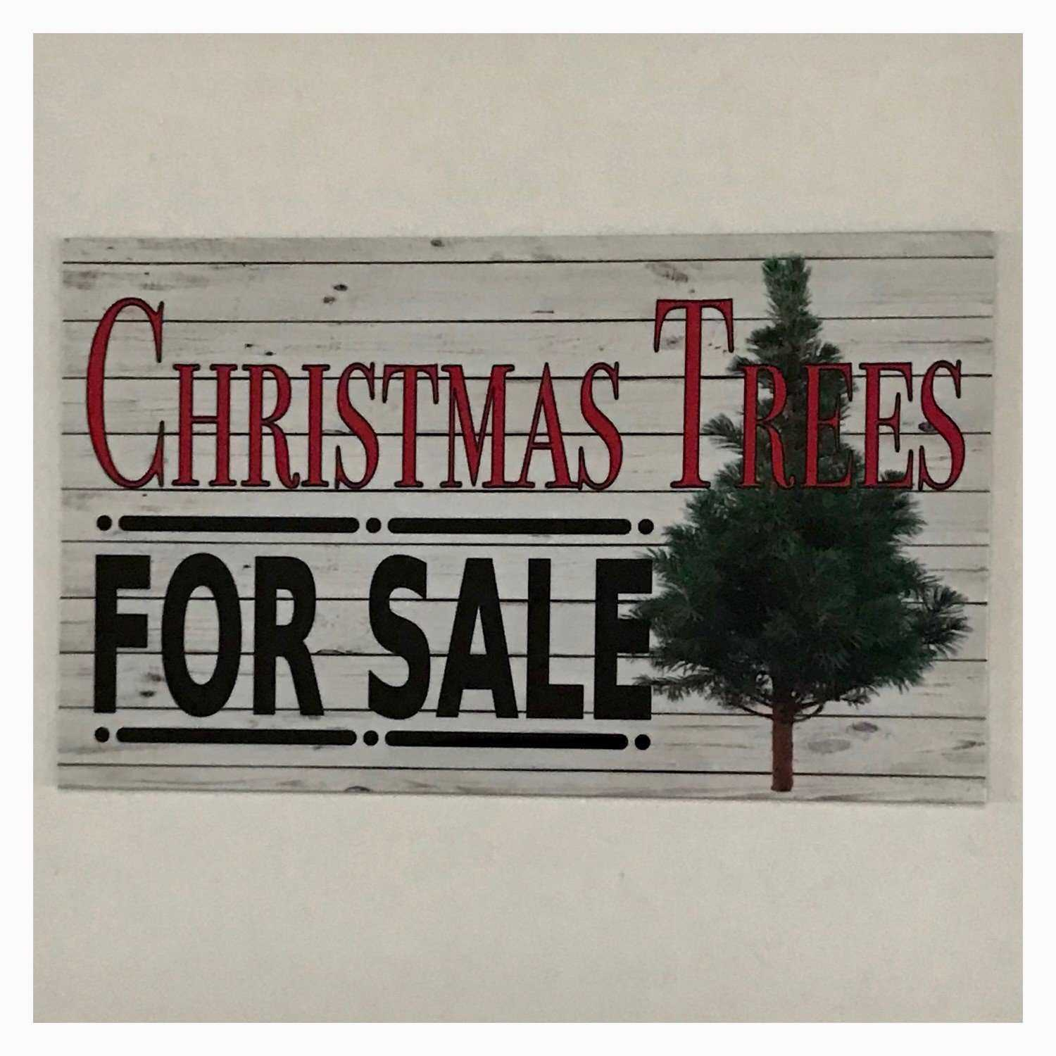 Christmas Trees For Sale Vintage Sign - The Renmy Store