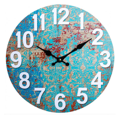 Clock Wall Rustic Crete - The Renmy Store