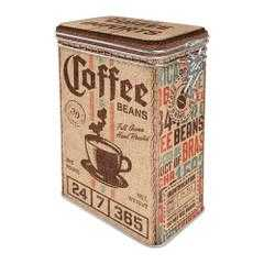 Box Tin Container Coffee Sack Vintage Retro | The Renmy Store