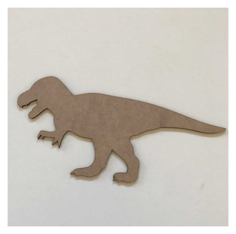Dinosaur T Rex Timber MDF Raw DIY | The Renmy Store