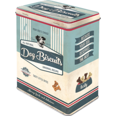 Box Tin Container Dog Biscuits Vintage Retro | The Renmy Store