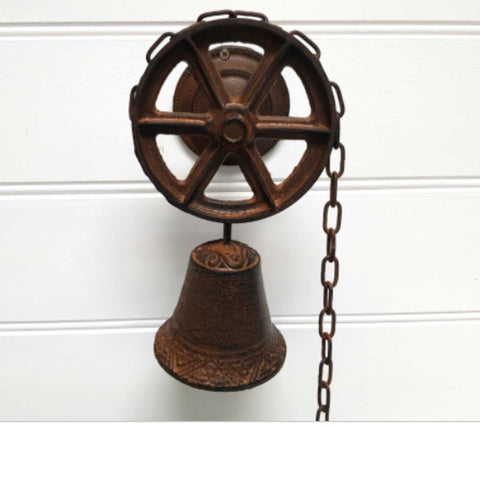 Door Bell Beach House Nautical Chain & Wheel - The Renmy Store