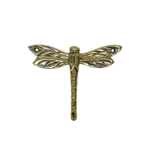 Hook Dragonfly Brass
