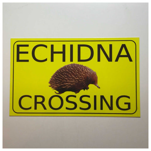 Echidna Crossing Sign Wall Plaque or Hanging - The Renmy Store