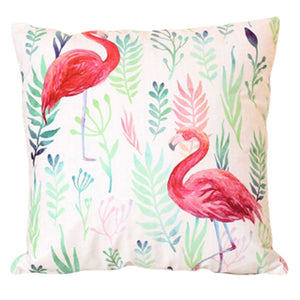 Cushion Pillow Floral Pink Flamingo - The Renmy Store