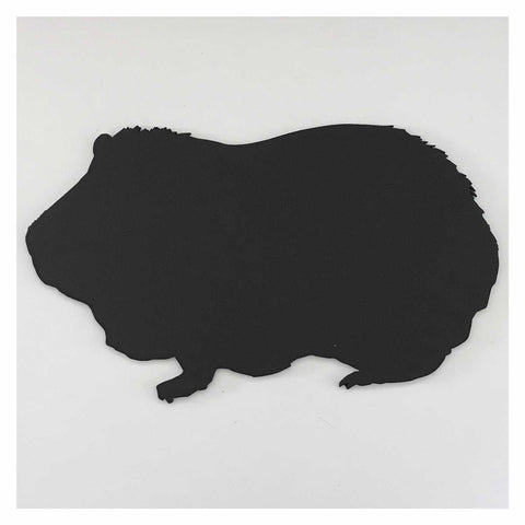 Blackboard Guinea Pig Pet MDF Animal Kitchen Business Market Chalk Cafe - The Renmy Store