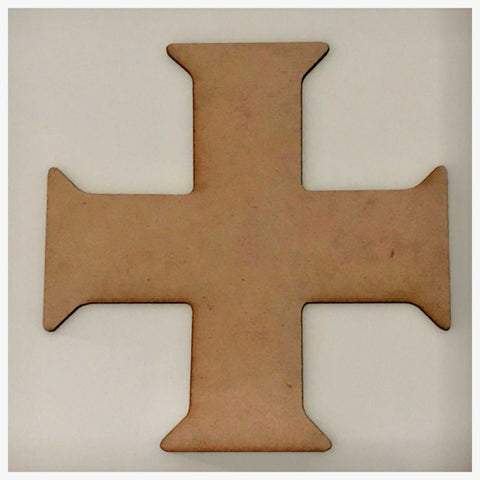Cross Greek Korsun MDF Shape DIY Raw Cut Out Art Religious Craft Decor Other Home Décor The Renmy Store